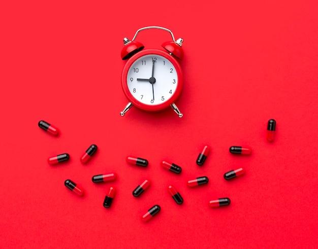 Horloge pour le traitement des pilules