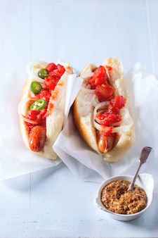 Hot-dogs maison