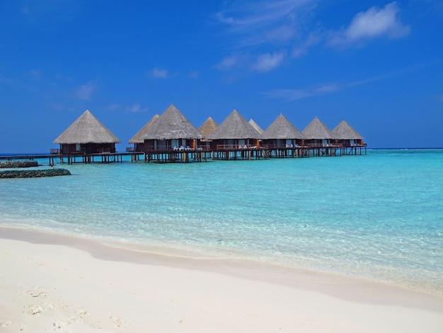 L'hôtel aux maldives, l'océan indien