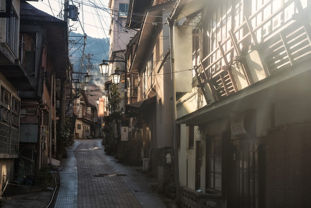 Hôtel de source chaude à shibu onsen