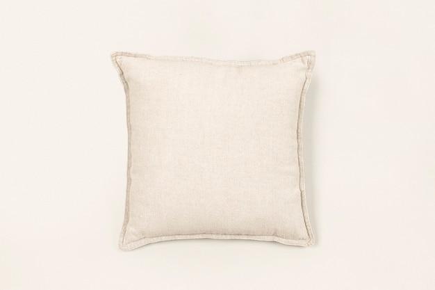 Housse de coussin blanc cassé, décor à la maison