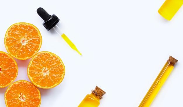 Huile essentielle aux oranges