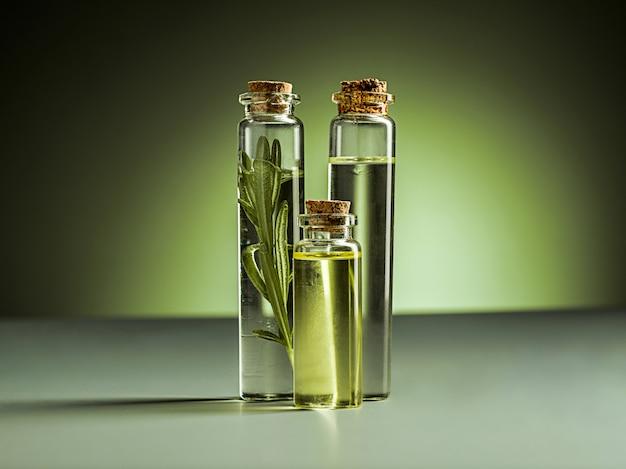 L'huile essentielle d'huile de citron vert