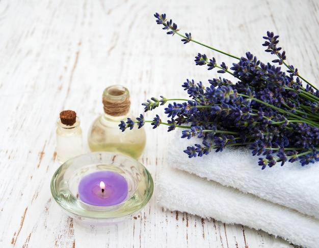 Huile de lavande et de massage