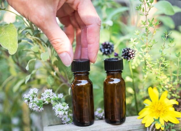 Huiles essentielles et plantes