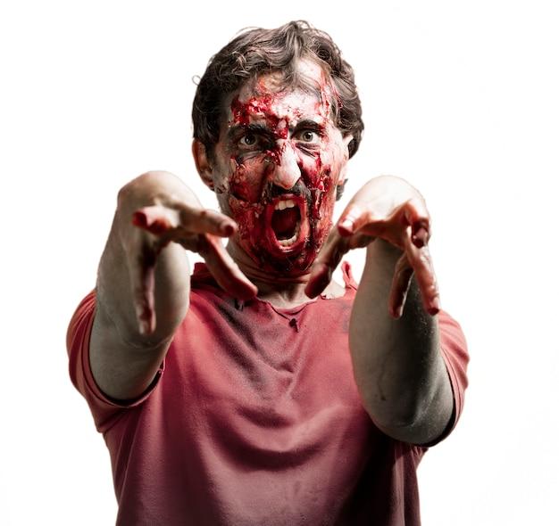 Hurlant zombie gory