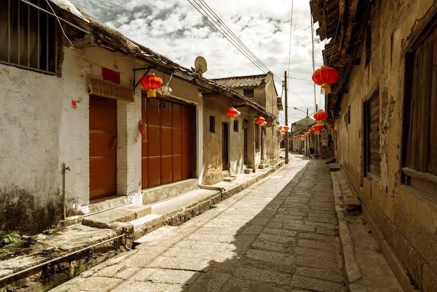 Hutong dans l'ancien village