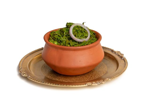 Hyderabadi biryani délicieux et épicé