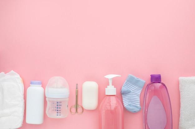 Hygiène des enfants unisexe nécessités nouveau-né