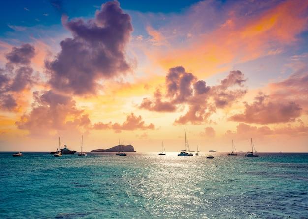 Ibiza cala comte conta beach baléares