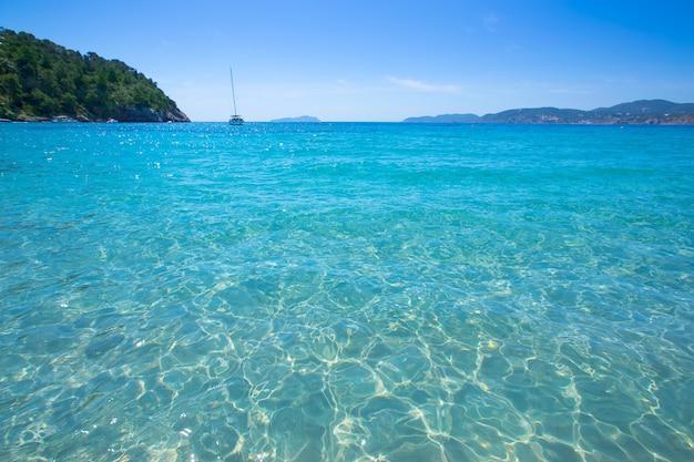 Ibiza cala plage san vicente san juan aux îles baléares