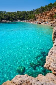 Ibiza cala salada et saladeta dans les baléares