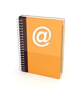 Icône du carnet d'adresses pour les applications