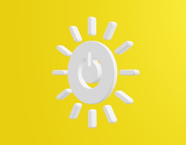 Icône énergie abordable et propre