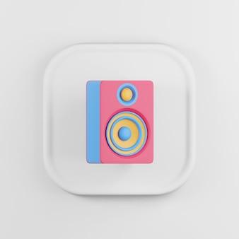 Icône de haut-parleur multicolore