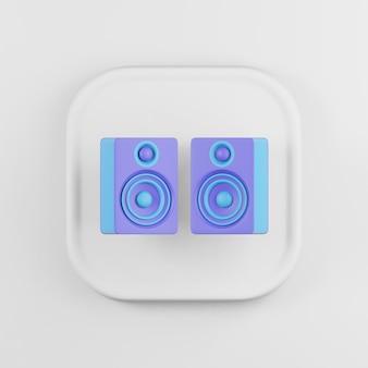 Icône de haut-parleurs colorés