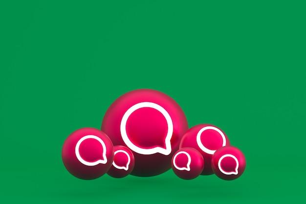 Icône d'instagram sur vert