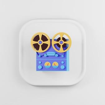 Icône de magnétophone à bobine