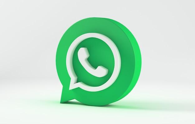 Icône de whatsapp isolé