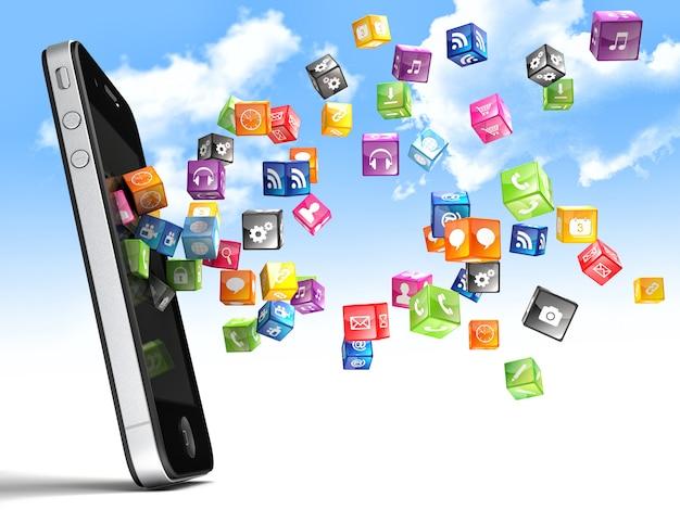 Icônes de smartphone
