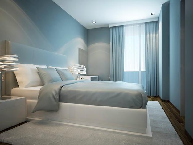 Idée de design de chambre scandinave