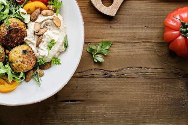 Idée de recette de falafel à la patate douce pour végétalien
