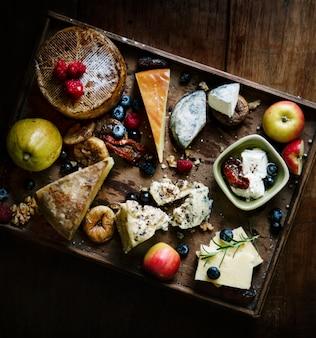 Idée de recette de plateau de fromages