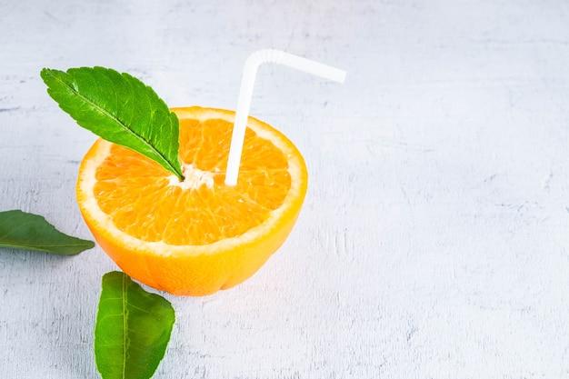 Des idées de jus d'orange frais