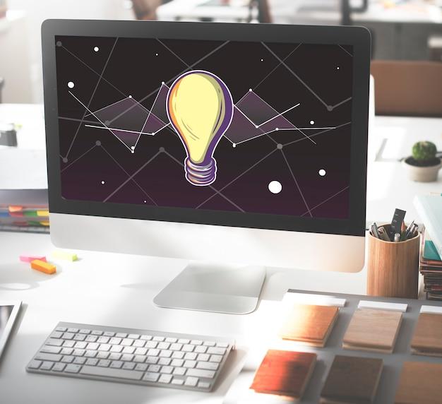 Idées progrès vision inspiration design concept
