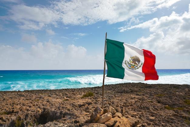 Île de cozumel plage el mirador au mexique