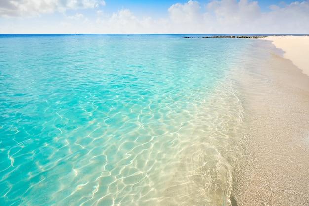 Île de cozumel, plage de palancar, riviera maya