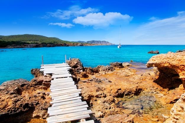 Île D Ibiza Canal D En Marti Pou Plage De Lleo Photo Premium