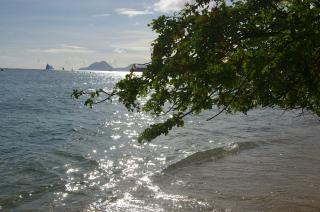 Île de la martinique, la plage