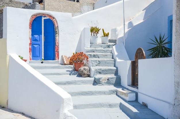 L'île pittoresque de santorin en grèce