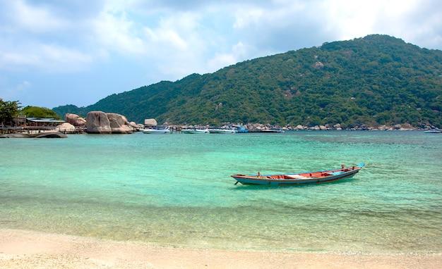 Île de plage voyage de vacances koh