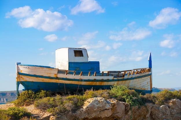 Île tabarca dans la communauté valencienne d'alicante