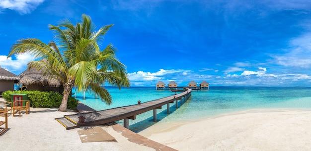 Île tropicale aux maldives