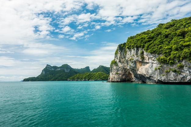 Îles angthong, koh samui, suratthani, thaïlande