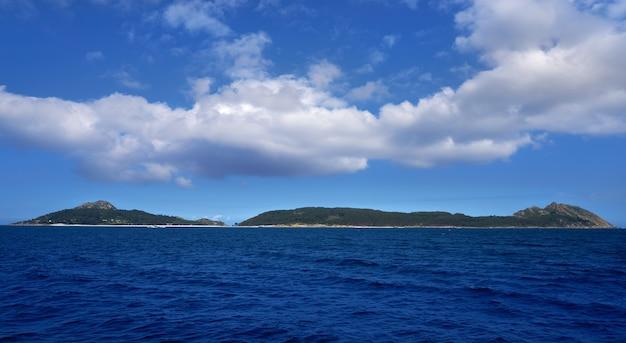 Îles islas cies près de vigo galice espagne