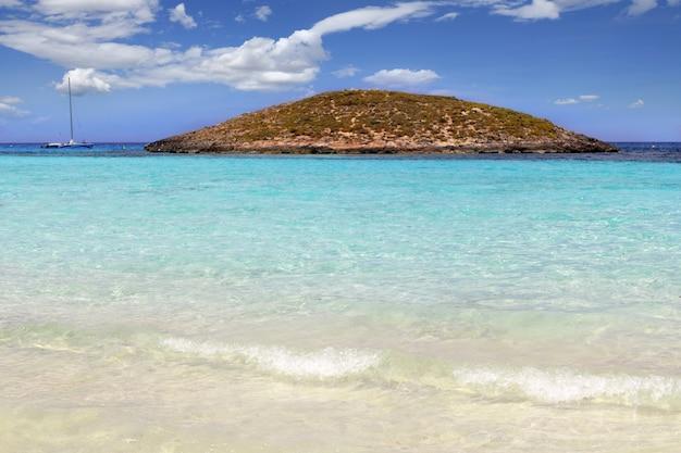 Illetes îles de la plage formentera baléares