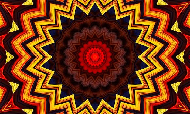 Illusion de mouvement d'image 2021, fond de kaléidoscope d'étoiles. belle texture kaléidoscope multicolore. conception unique de kaléidoscope, forme unique, texture merveilleuse, motif abstrait violet.