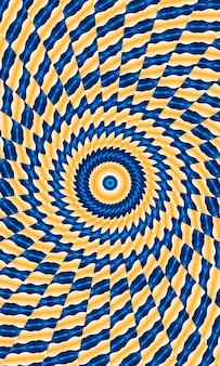Illusion de mouvement d'image 2021, fond de kaléidoscope d'étoiles. belle texture kaléidoscope multicolore. conception unique de kaléidoscope, forme unique, texture, motif abstrait violet. image verticale.