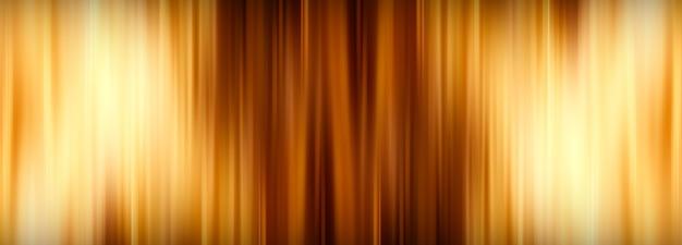 Illustration 3d abstraite motif répétitif à rayures verticales jaune doré brillant avec un modèle de bannière d'ombre et de lumière dégradée. fond de rayures colorées et brillantes de rendu 3d.