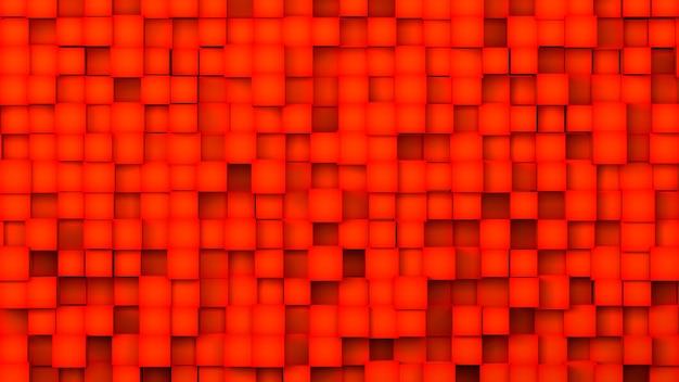 Illustration 3d, formes géométriques abstraites d'illustration de fond