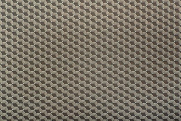 Illustration abstraite en nid d'abeille. abstrait géométrique gris. modèle.