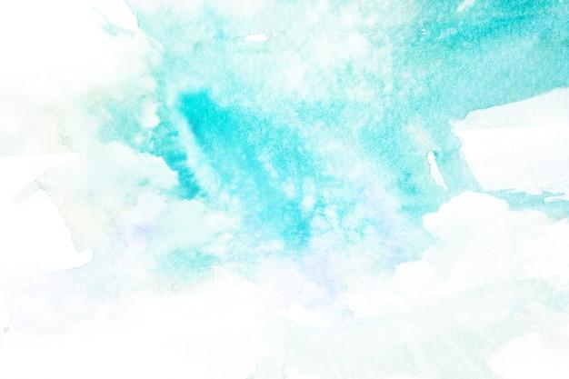 Illustration aquarelle du ciel avec nuage.