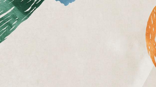 Illustration de l'arrière-plan social de neo memphis