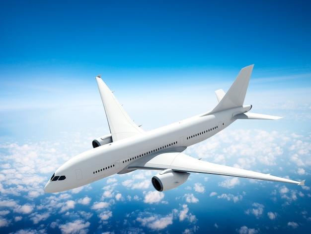 Illustration d'un avion volant
