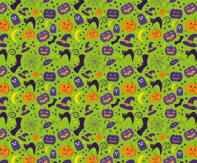 Illustration de conception de modèle halloween effrayant pour le fond