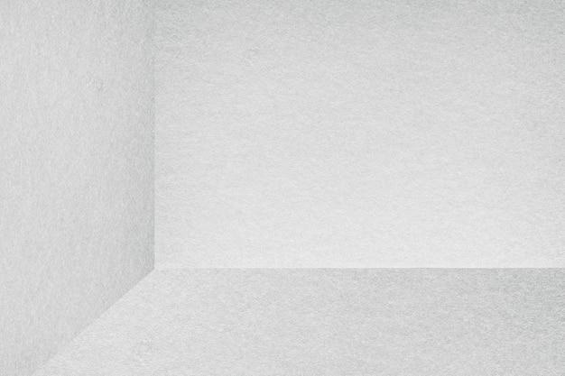 Illustration de fond de coin de chambre grise